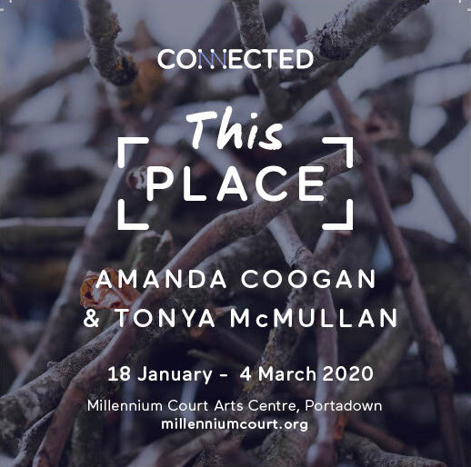 Amanda Coogan and Tonya McMullan: This Place | Saturday 18 January  – Wednesday 4 March 2020 | Millennium Court Arts Centre