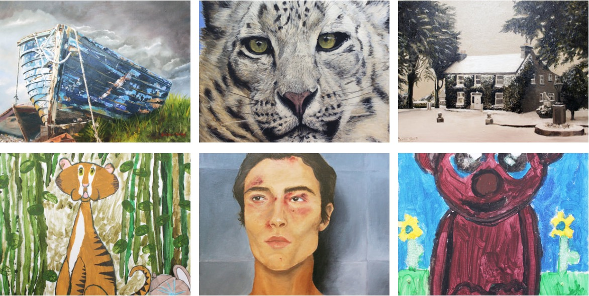 Annual Lions Club Exhibition | Monday 20 January  – Friday 14 February 2020 | Wexford Arts Centre