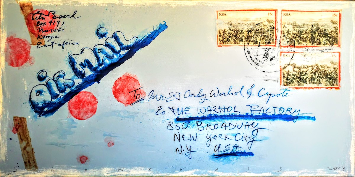 Neil Shawcross: Letters to Andy | Thursday 12 March  – Saturday 11 April 2020 | Hillsboro Fine Art