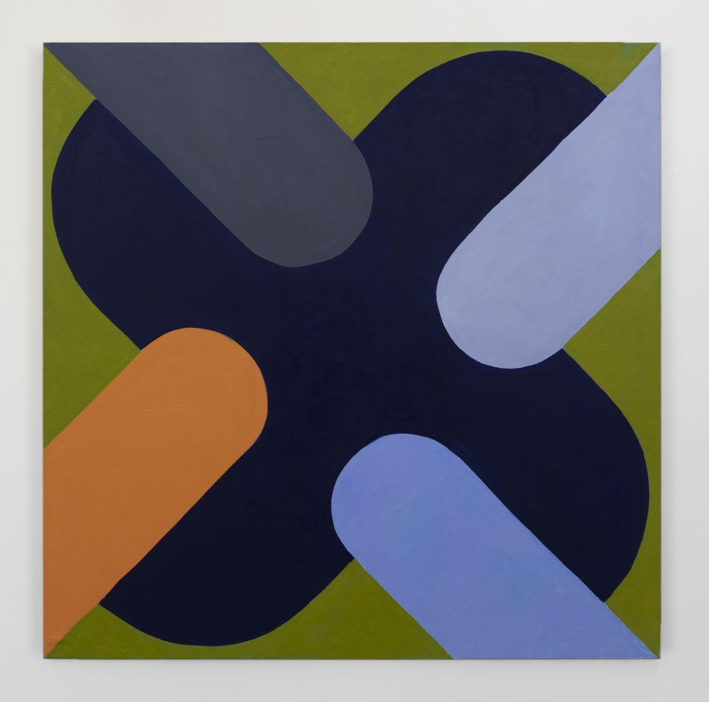 Richard Gorman:Echo Foxtrot, 2020, oil on linen, 170 x 170cm | Richard Gorman: dalkey: Online Viewing Room | from May 2020  | Kerlin Gallery