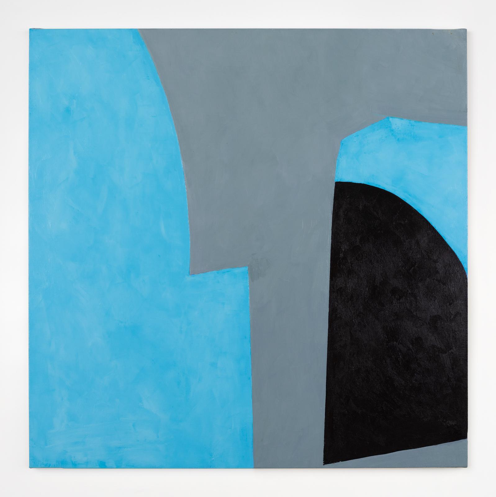 Richard Gorman, Echo Delta, 2020, oil on linen, 100 x 100 cm / 39.4 x 39.4 in | Richard Gorman: dalkey 2 | Tuesday 16 June  – Saturday 15 August 2020 | Kerlin Gallery