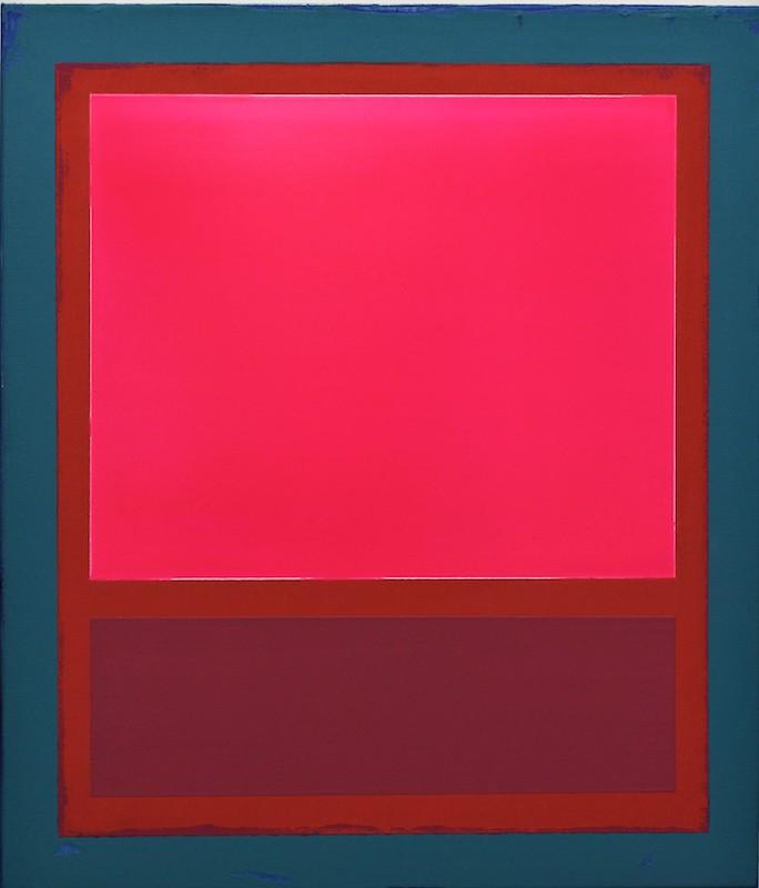 Tom Phelan, Luminescent Buoy, oil on canvas, 70 x 60cm | Tom Phelan: Luminescence | Saturday 18 July  – Saturday 15 August 2020 | SO Fine Art Editions