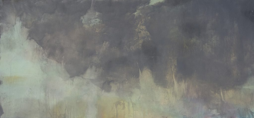 Paddy Lennon: Water's edge, 2020, oil on canvas | Paddy Lennon: Amuigh faoin Spéir | Monday 31 August  – Wednesday 7 October 2020 | Wexford Arts Centre