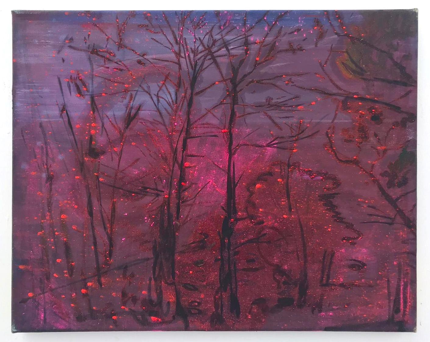 Elizabeth Magill, mothlight, 2020, oil on canvas, 40.5 x 50.5 cm / 15.9 x 19.9 in   Elizabeth Magill: Her Nature   Saturday 5 September  – Saturday 10 October 2020   Kerlin Gallery