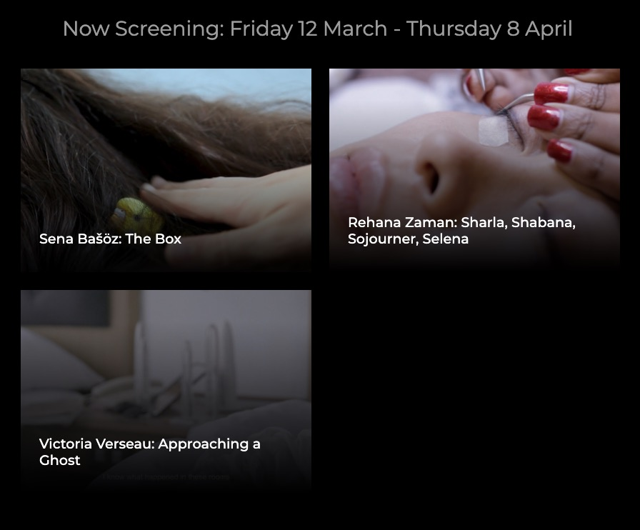 Artists' Film International | 2021 | Friday 12 March  – Thursday 8 April 2021 | Crawford Art Gallery