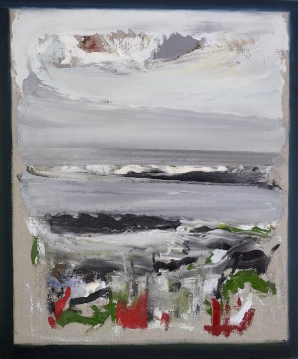 Eddie Kennedy,Ground, oil on linen, 69 x 58 cm | Eddie Kennedy: Arena | Thursday 20 May – Sunday 27 June 2021 | Hillsboro Fine Art