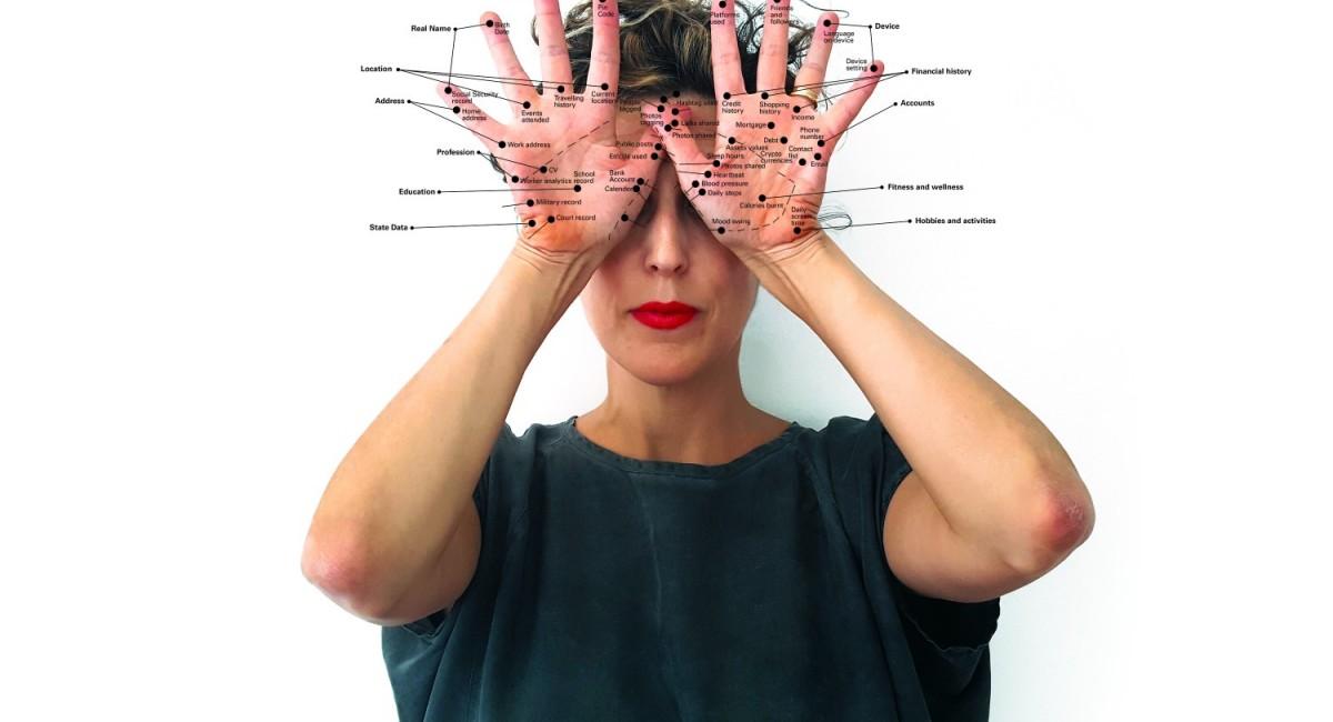Ofri Cnaani: You Are My Statistical Body,2020,Inkjet print, Courtesy the artist, London   Ofri Cnaani:Statistical Bodies   Saturday 12 June – Saturday 18 September 2021   Sirius Arts Centre