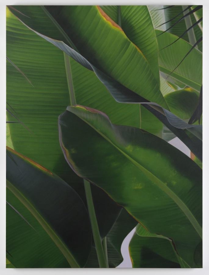 Marcel Vidal,Banana VI,2021, oil on linen, 160 x 120 cm / 63 x 47.2 in | Marcel Vidal: Stuck on dawn | Saturday 17 July – Thursday 26 August 2021 | Kerlin Gallery