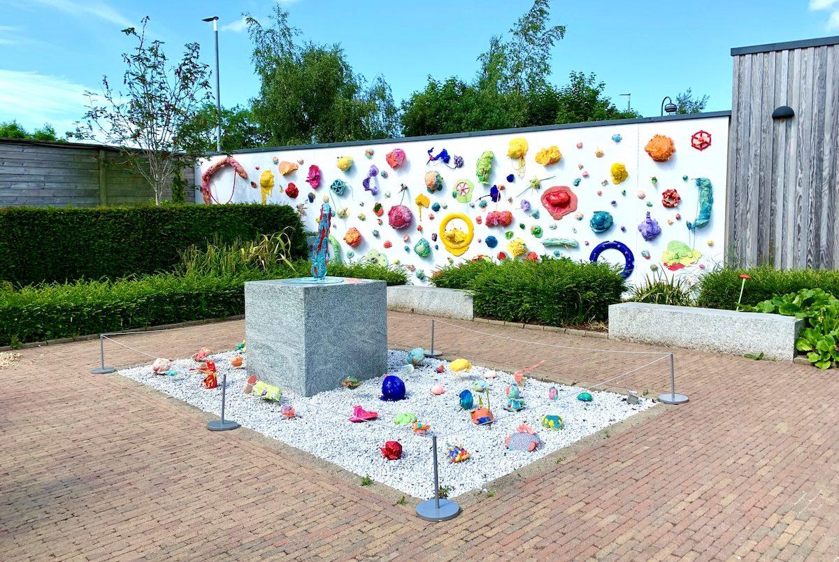 Ellie Niblock (b.1993):174 Vessels,2021, polyurethane, foam, clay, silicone, resin   Ellie Niblock: 174 Vessels   Summer 2021   F.E. McWilliam Gallery