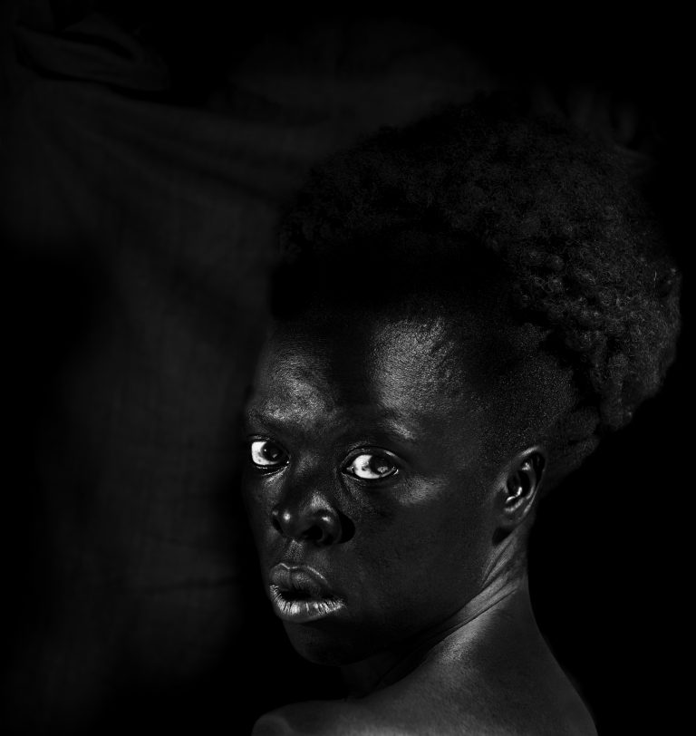 Zanele Muholi: S'thombe, La Réunion, 2016, Quadriptych, Silver gelatin prints, 30 x 28.3cm, 30 x 32cm, 30 x 25cm, 30 x 30cm, Edition of 8 + 2AP, David Kronn Collection, Promised Gift to IMMA   The Narrow Gate of the Here-and-Now: Queer Embodiment   from Friday 30 July 2021   IMMA