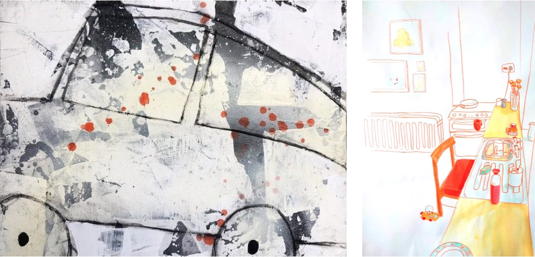 Kelly Ratchford and Jaki Coffey: Less Jam, More Havoc   Thursday 15 July – Sunday 15 August 2021   Olivier Cornet Gallery