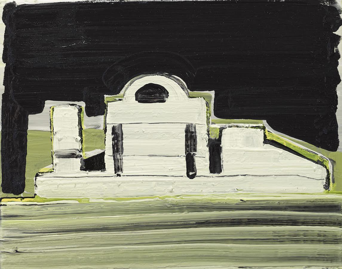 Sinéad Ní Mhaonaigh: By Night, 40x50cm, oil on canvas, 2021 | Sinéad Ní Mhaonaigh: Cnuasach | Saturday 11 September – Saturday 16 October 2021 | Uillinn: West Cork Arts Centre